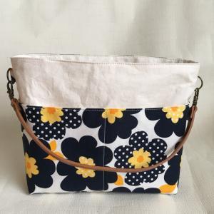 小さめのバッグインバッグで水筒スペース確保!