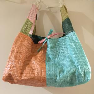 大容量❤︎レジ袋❤︎カラフルレジャーシート❤︎レジ袋有料化に備えて!