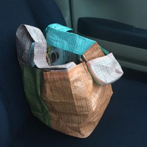 レジ袋型エコバッグは「あったらいいなぁ〜」を形にしました