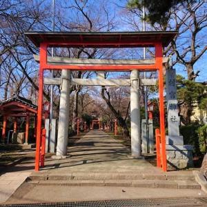 中央区矢部 村富神社を参拝 1