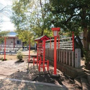 中央区矢部 村富神社を参拝 2