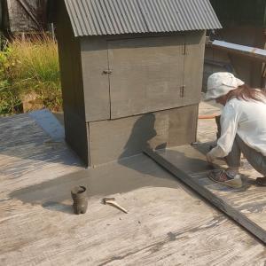 雨水貯水槽の補修