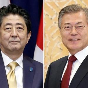 日韓首脳会談直前