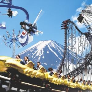 富士急のコースター地上撮り