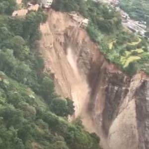 80年に1度の豪雨と山峡ダム