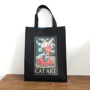 cat artのトートバックを追加しました(飛び猫商店)