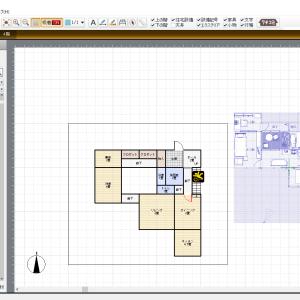 間取り図遊び③3Dマイホームで「ピグライフ表庭4LDK豪邸」