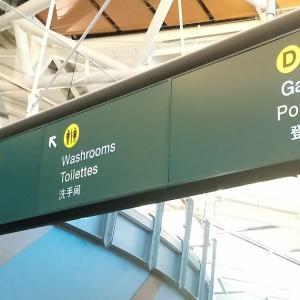 日本から乗り継ぎ便で帰ってきて大変だった