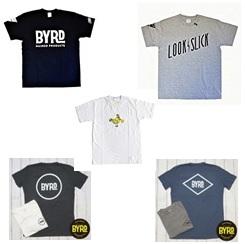 BYRD(バード)のオリジナルデザイン・コラボなどの各種Tシャツをご紹介