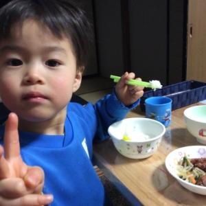 箸で食べるうますぎる(^^)