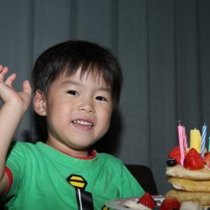 息子4歳なりました^^