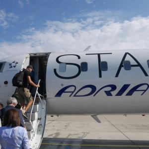 OS705便 ウィーン→プラハ エコノミークラス アドリア航空運航便 搭乗記 【2019年旅行記14-6】
