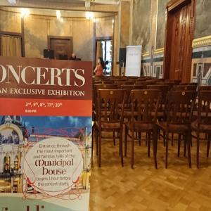 チェコ プラハ 市民会館 スメタナホール・・・横のホールで本格的なクラシックコンサートを!【2019年旅行記14‐20】