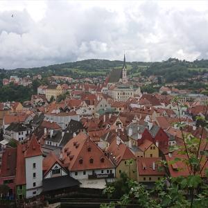 世界一美しい街 チェスキークルムロフへ日帰り観光 チェコ プラハからのバスを紹介します【2019年旅行記14‐23】