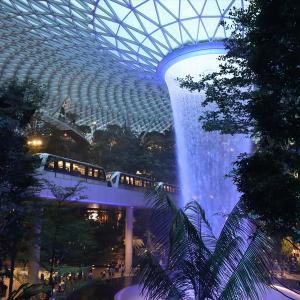 シンガポール チャンギ国際空港隣接の複合商業施設 JEWEL 訪問記【2020年旅行記5-4】