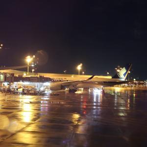 シンガポール航空 エコノミークラス SQ672便 シンガポール→名古屋中部 搭乗記【2020年旅行記5-7】