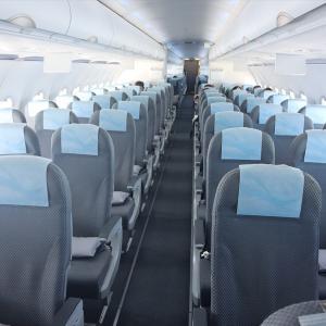 エバー航空 エコノミークラス BR138便 台北桃園→函館 搭乗記 搭乗客11名 飛ばしてくれたエバー航空に感謝【2020年旅行記6-6】