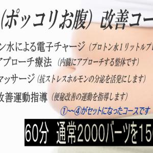 新メニュー!! 便秘(ポッコリお腹)改善コース始めます! バンコクRENEスパ