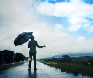 雨上がり、やっと洗濯できますね 風の時代に 重要なのは何を選択?