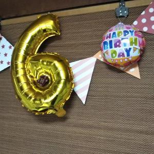 HAPPY BIRTHDAY 6歳