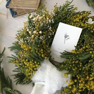 mimosa wreath lesson 2020 参加者募集♪