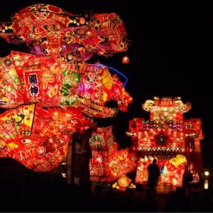 夏の思い出(*≧∀≦*)沼田町の夜高行灯祭