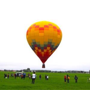 上士幌町バルーンフェスティバルにて、キャンプと気球を楽しみました!