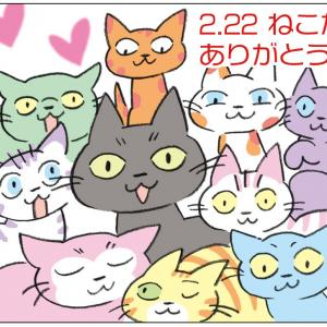 猫たちに感謝‼︎猫の日