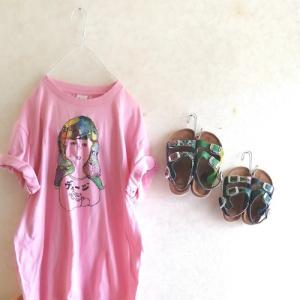 tシャツとサンダル納品