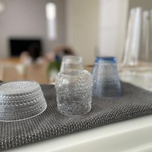 定期的にやってます♪  グラスや花瓶の漬け置き洗い