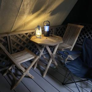 【ブルーノ】LEDランタンが素敵すぎ♪ べランピングにおすすめです!