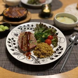 【ブラパラ】今夜はミートローフで晩ご飯♪