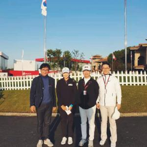 パク先生はLPGA女子ゴルフ選手権大会に参加した!
