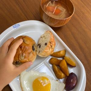 子どもごはん 朝【たまにはパンの日】