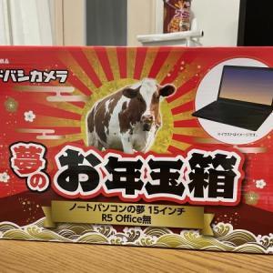 ヨドバシカメラ2021福袋 ノートパソコンの夢に当選する!(ネタバレ注意)