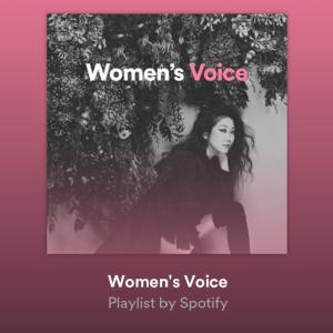 「Nostalgia」、Spotify公式プレイリスト「Woman's Voice」入り!