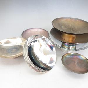 【新潟市/三条市/買取本舗ふくろう】 純銀 銀杯 銀盃 銀器 銀製品 シルバー 工芸品 骨董品
