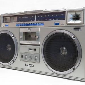 【新潟市/三条市/買取本舗ふくろう】 Victor ビクター ラジカセ カセット ラジオ