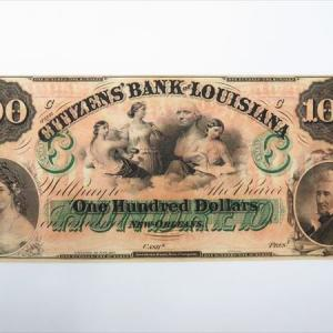 【新潟市/三条市/買取本舗ふくろう】 アメリカ 100ドル 古紙幣 古札 外国紙幣 貨幣 古銭