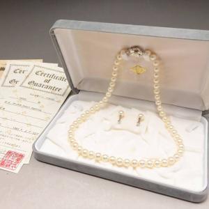 【新潟市/三条市/買取本舗ふくろう】 真珠 パール ネックレス イヤリング ジュエリー 宝石