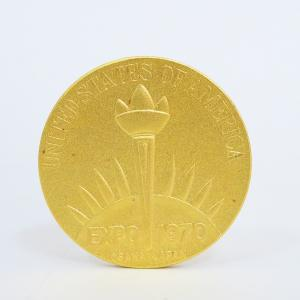 【新潟市/三条市/買取本舗ふくろう】 EXPO 1970 大阪万博 記念 純金 メダル 貴金属