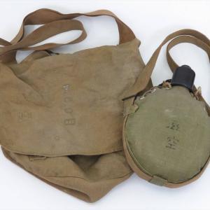 【新潟市/三条市/買取本舗ふくろう】 旧日本軍 鞄 水筒 軍装品 大日本帝国軍 ミリタリー