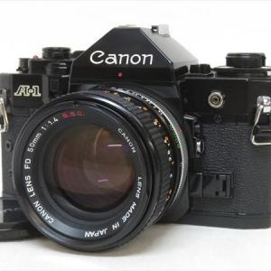 【新潟市/三条市/買取本舗ふくろう】 Canon キャノン A-1 一眼レフ カメラ レンズ