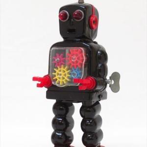 【新潟市/三条市/買取本舗ふくろう】 吉屋 ハイホイールロボット ブリキ おもちゃ 玩具 レトロ