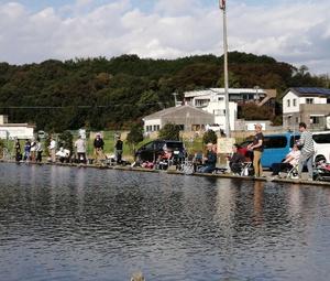 裾野で秋の釣り会