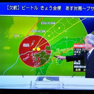 台風&賞味期限切れ