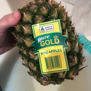 パイナップルをさばく時期を間違えて悲劇
