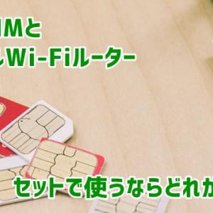 格安SIMとモバイルWi-Fiルーターをセットで使うならどれがいい?