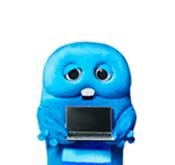「UQ WiMAX」のキャラはなぜガチャピンとムックなの?なんで青い?