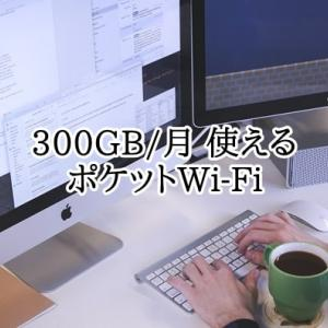300GB使えるポケットWi-Fiはある?いまあるサービスを徹底比較!